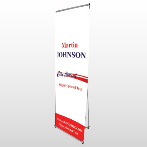 City Council 133 Flex Banner Stand