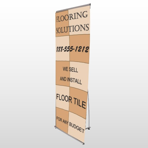 Flooring 247 Flex Banner Stand