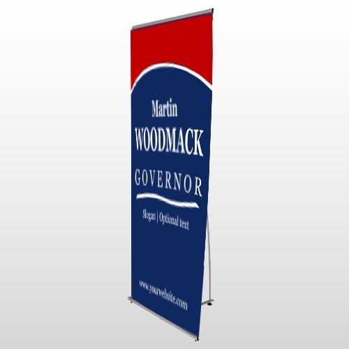 Governor 132 Flex Banner Stand