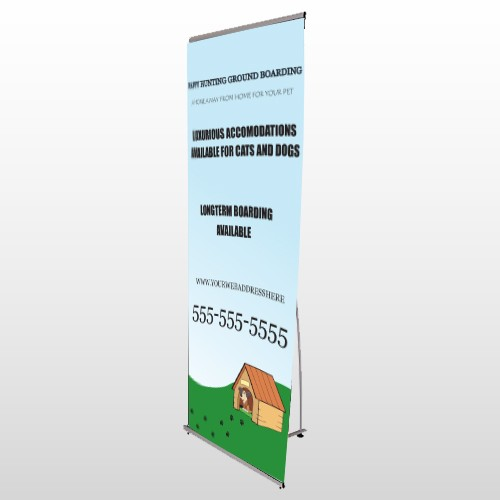 Hunting 301 Flex Banner Stand