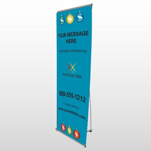 Insurance 176 Flex Banner Stand