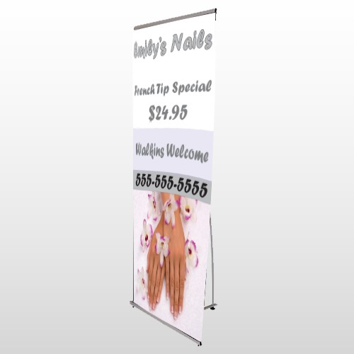 Nails 295 Flex Banner Stand