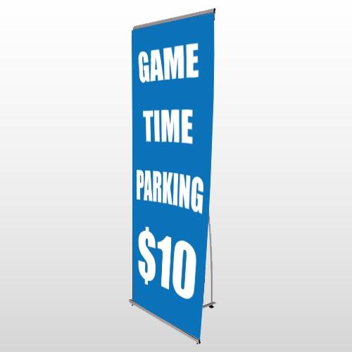 Parking 123 Flex Banner Stand