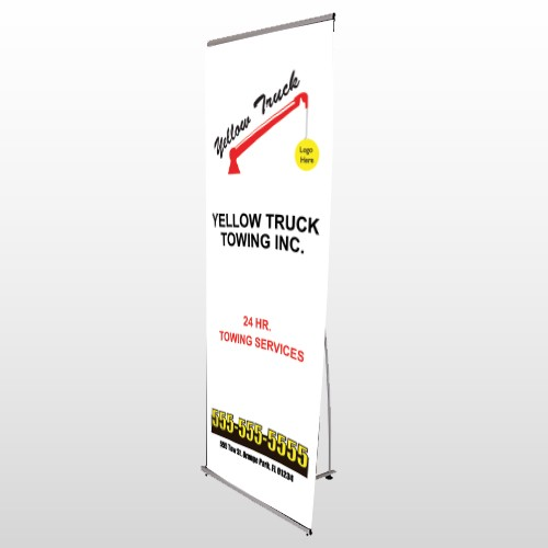 Towing 125 Flex Banner Stand