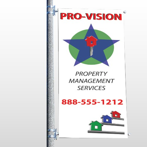 Property Management 363 Pole Banner