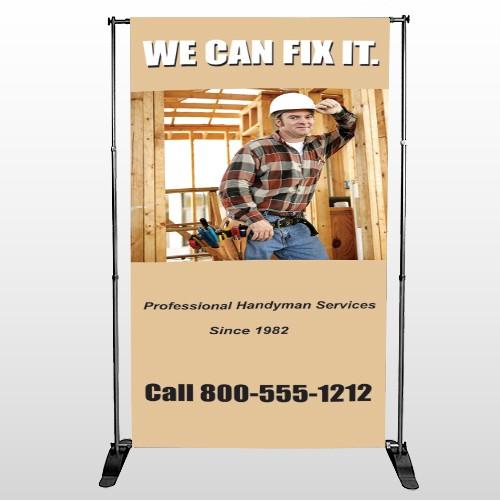 Handyman 243 Pocket Banner Stand
