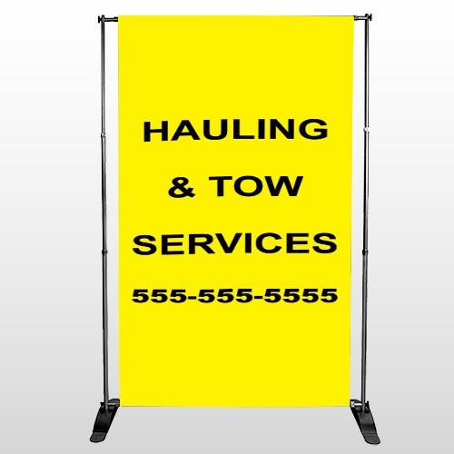 Hauling 127 Pocket Banner Stand