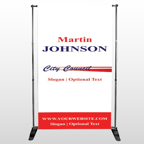 City Council 133 Pocket Banner Stand