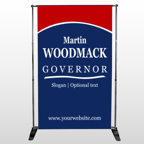 Governor 132 Pocket Banner Stand