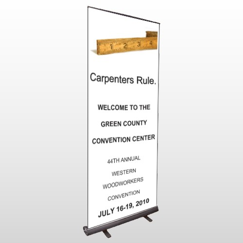 Convention 239 Retractable Banner Stand