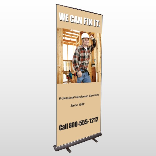 Handyman 243 Retractable Banner Stand