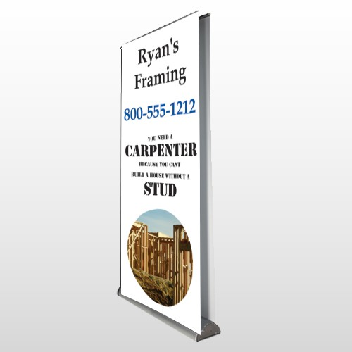 Framing 240 Retractable Banner Stand