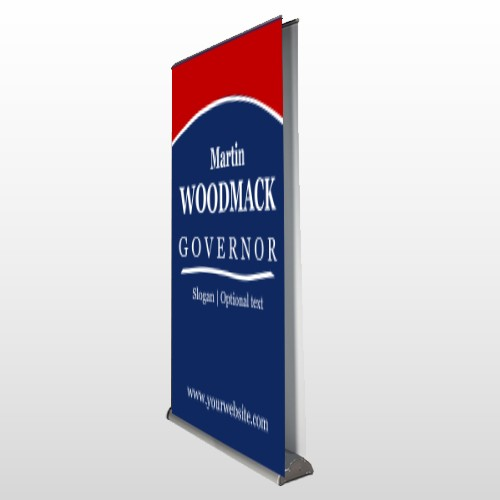 Governor 132 Retractable Banner Stand