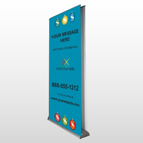 Insurance 176 Retractable Banner Stand
