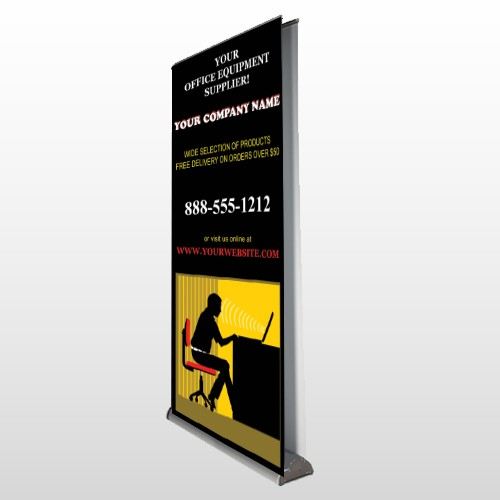 Office 149 Retractable Banner Stand