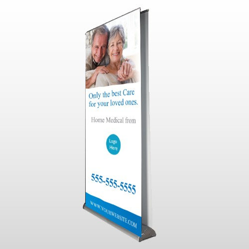 Old 96 Retractable Banner Stand