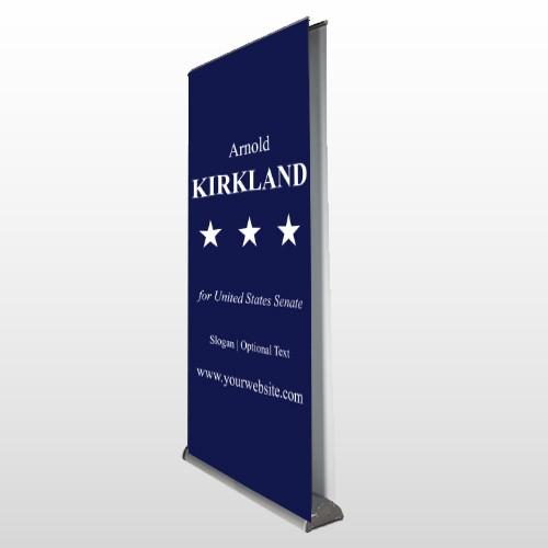 Senate 134 Retractable Banner Stand