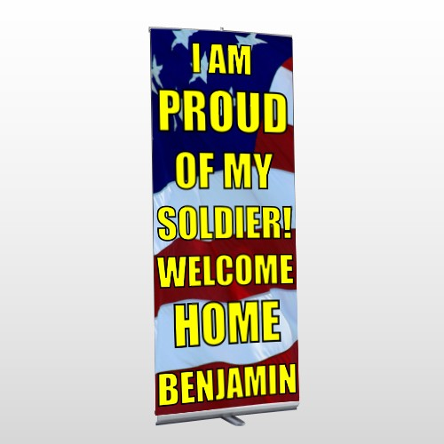 Flag 57 Retractable Banner Stand