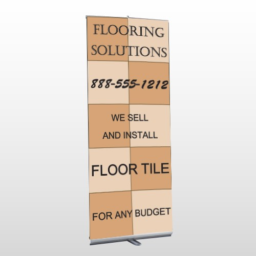 Flooring 247 Retractable Banner Stand