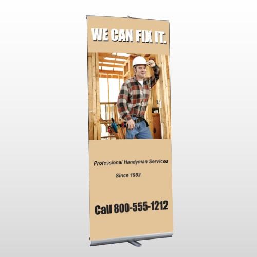 Handyman 243 Retractable Banner Stand