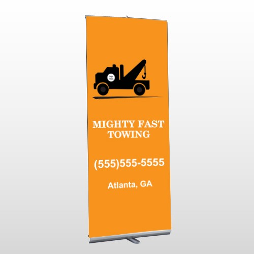 Mighty 128 Retractable Banner Stand