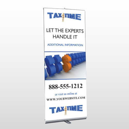 Tax Time 171 Retractable Banner Stand