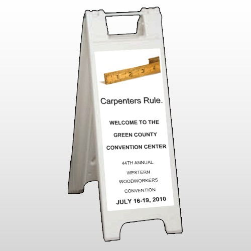 Convention 239 A Frame Sign