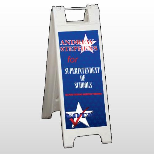 Superintendent 306 A Frame Sign
