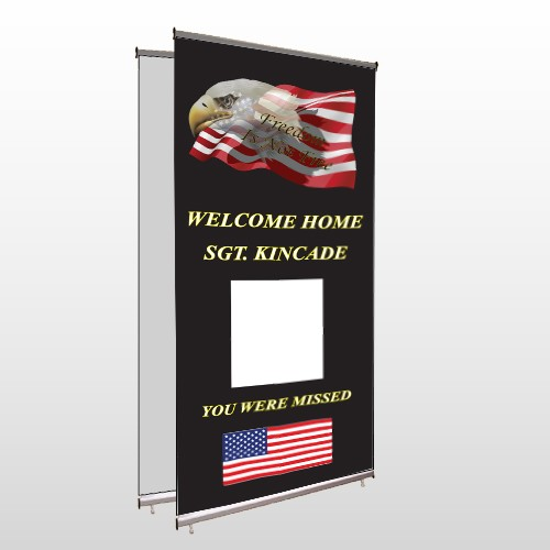Eagle Flag 307 Center Pole Banner Stand