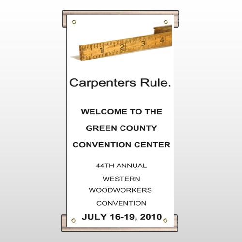 Convention 239 Track Sign
