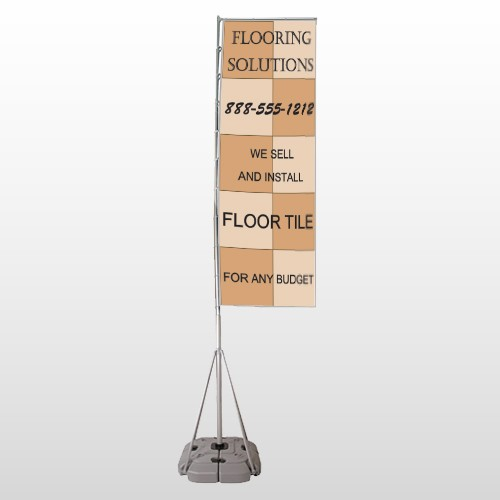 Flooring 247 Exterior Flag Banner Stand