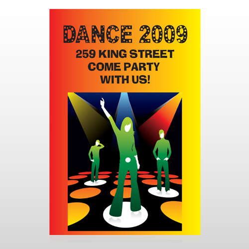 Dance Disco 518 Custom Sign