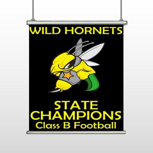 Hornet 44 Hanging Banner