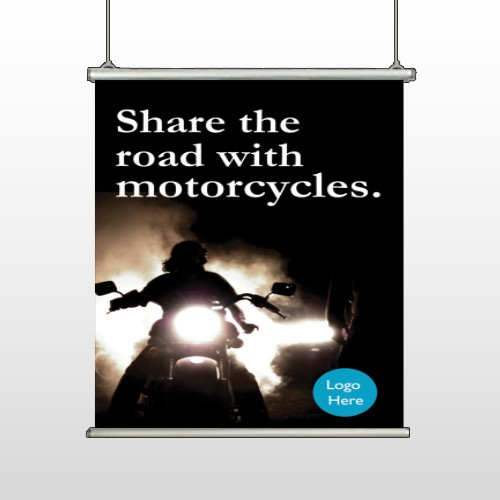 Motorcycle 106 Hanging Banner