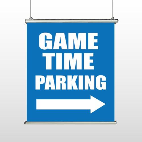 Parking 298 Banner Hanging