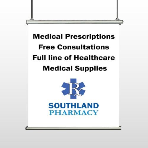 Pharmacy 335 Hanging Banner
