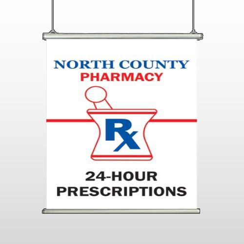 Pharmacy 101 Hanging Banner