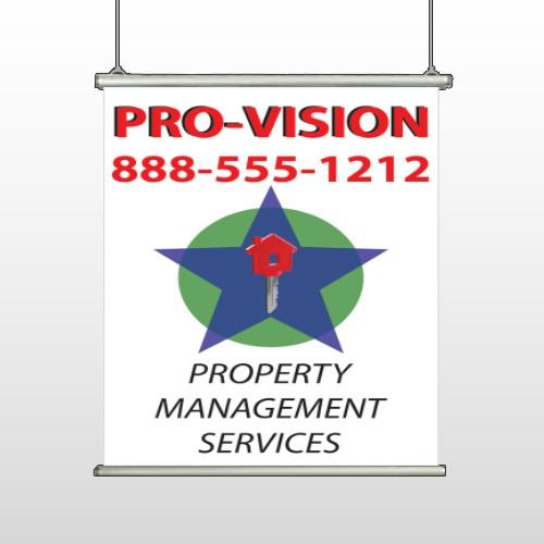 Property Management 363 Hanging Banner