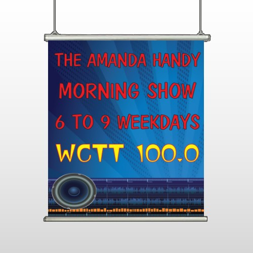 AMP Morning Show 439 Hanging Banner