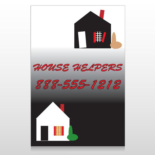 Househelper 245 Custom Sign