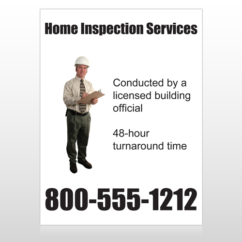 Inspection 244 Custom Sign