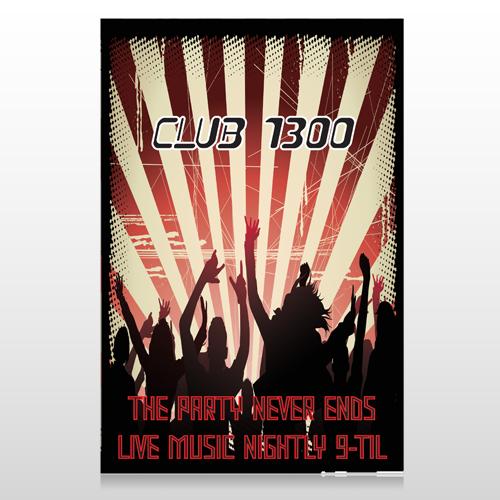 Night Club 523 Custom Decal