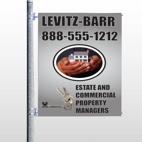 Bar 362 Pole Banner