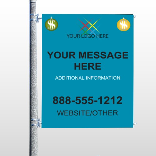 Insurance 158 Pole Banner