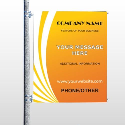 Law 142 Pole Banner