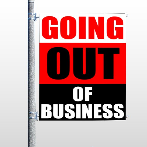Small Business 53 Pole Banner