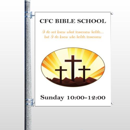 Shining Cross 161 Pole Banner