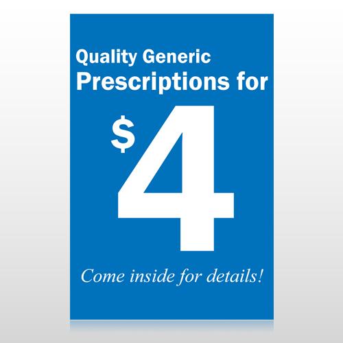 Pharmacy 102 Custom Sign