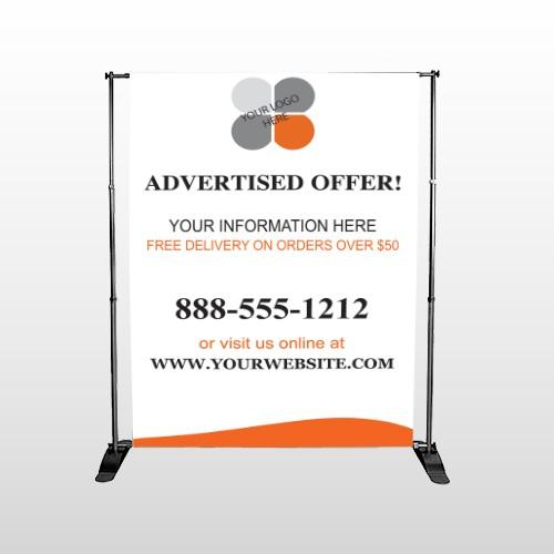 Advertised Offer 150 Pocket Banner Stand