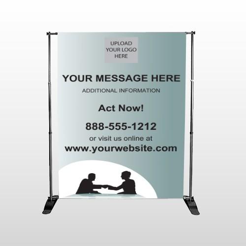 Bank 174 Pocket Banner Stand